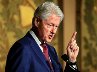 Clinton to present the National Book Foundation's Literarian award